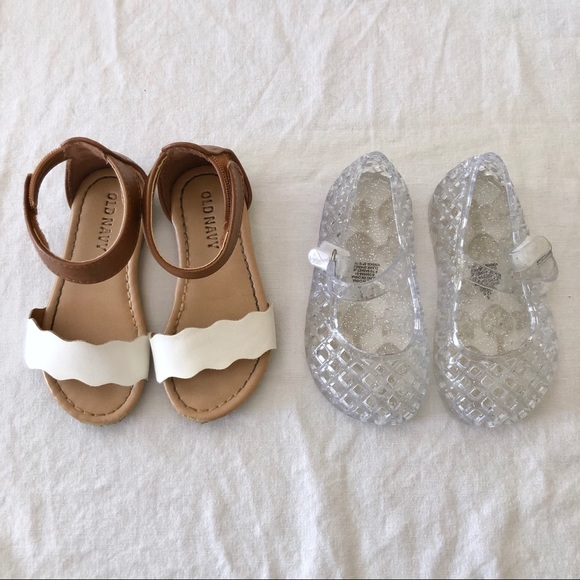 Carter/'s Baby Girls Braided Strappy Sandals White Summer NWT Choose Size
